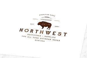 Rugged Buffalo Vector Logo