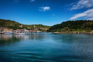 Early summer of the Island of Paxos