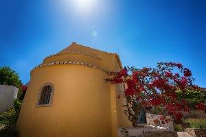 Traditional greek buildings