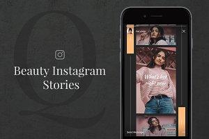 30% OFF Q Beauty Instagram Stories