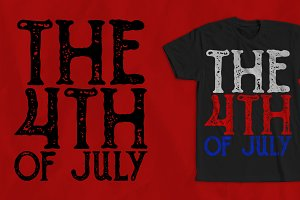 The 4th Of July T-Shirt Design 2