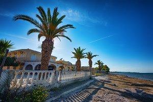 Kavos, Corfu island, Greece