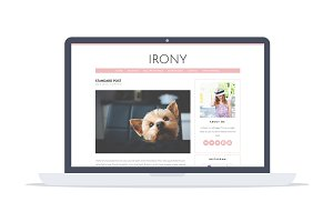 Irony - Feminine Wordpress Theme