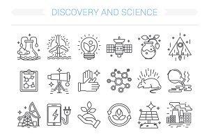 24 Discovery and science icon.