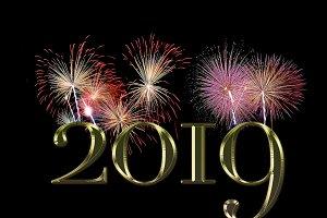 New Year 2019.