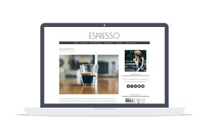 Espresso - Minimal Wordpress