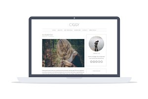 Ciggy - Feminine Wordpress Theme