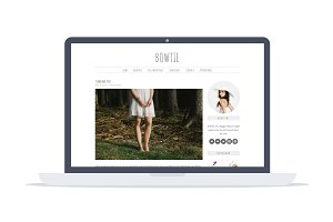 Bowtie - Feminine Wordpress Theme