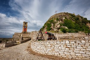 The Fortress of Corfu Island