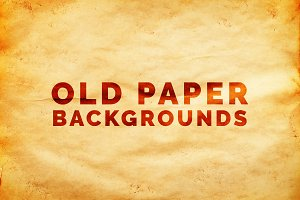 Old Weathered Paper Backgrounds