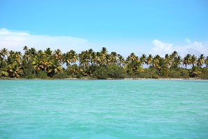 Turquoise caribbean sea
