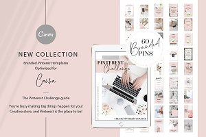 Branded pins + Pinterest guide