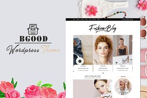 Bgood Creative WordPress Blog Theme