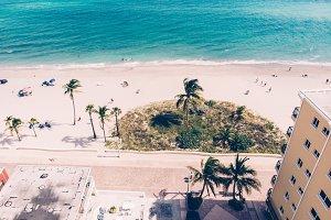 Ocean beach view luxury apartments