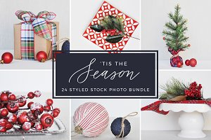 'Tis the Season Styled Stock Photos