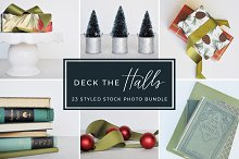 Deck the Halls Styled Stock Photos