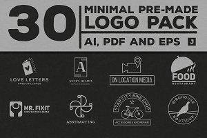 Minimal Pre-Made Logos