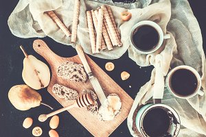 Breakfast – coffee break set