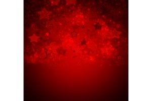 red stars background
