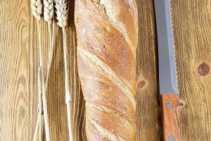 one fresh bread