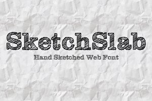 SketchSlab Web and Desktop Font