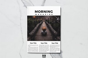 Morning | Magazine Template
