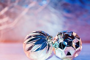 Christmas holidays composition on