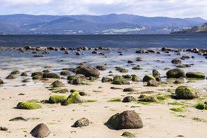 Dennes Point beach