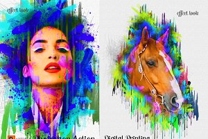 Digital Printing Photoshop Action
