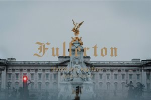 Fullerton typeface font