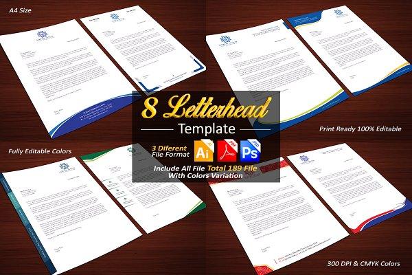 8 Letterhead Templates