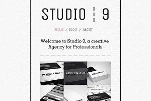 Studio 9 - a Creative Agency Portfol