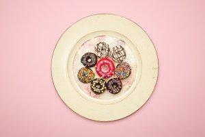 Hanukkah, Jelly Doughnut, Pastel