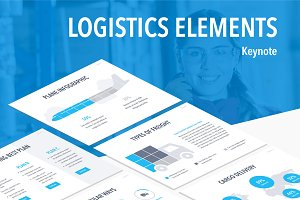 Logistics Elements Keynote Template