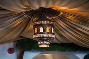 Lamp Light and Fabric