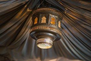 Lamp Light and Fabric 2