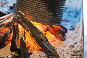 Tin on Fire