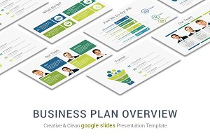 Business Plan Overview google slides