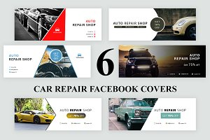 Car Repair Facebook Covers - SK