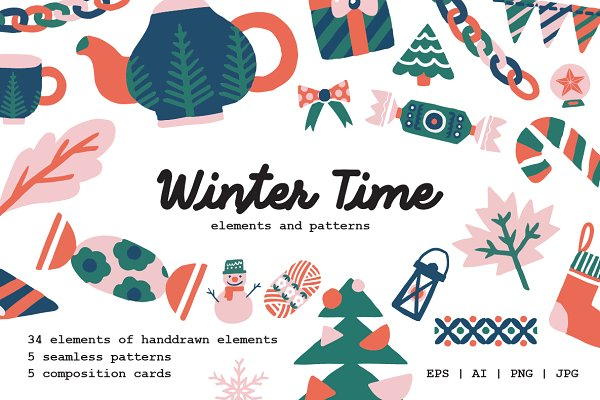 Illustrations and Illustration Products: Prangtip F. - Winter Time