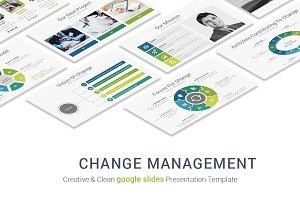 Change Management google slides