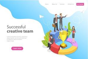 Successful creative team