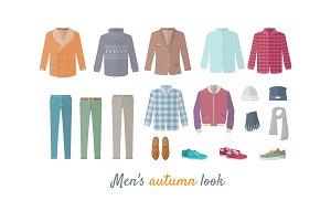 Mens Autumn Look Apparel Set