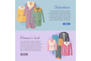 Outerwear Women's Look Web Banner
