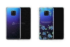Huawei Mate 20 Pro UV TPU Clear Case