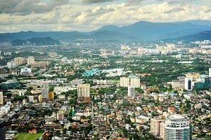 Panorama of Kuala Lumpur