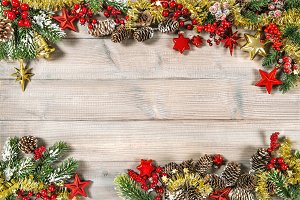 Christmas ornaments stars garland ru