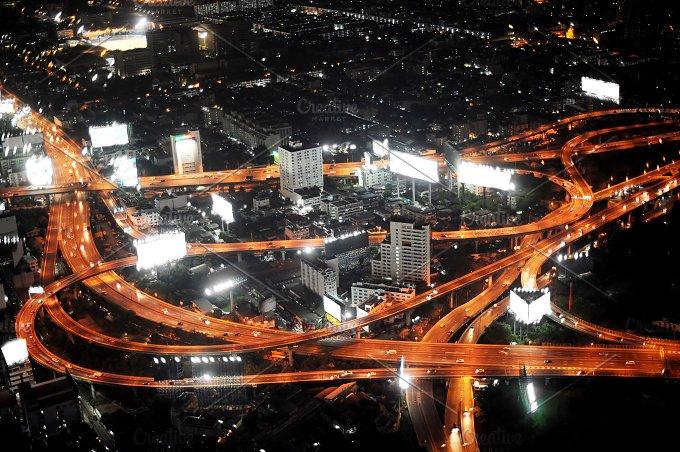 Bangkok. Expressway and Highway - Transportation
