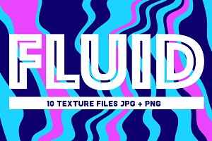 Fluid Texture Backgrounds