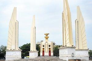 The Democracy Monument. Thai